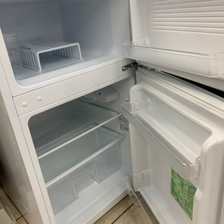 ヤマダ電機 YRZ-C09B1 90L 2017年製 冷蔵庫 - 名古屋市