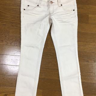 【美品】マタニティ ホワイトジーンズ