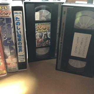 ウルトラマンやウルトラ戦士 VHSビデオテープ