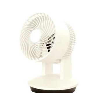 ★新品未使用★ シンプル サーキュレーター 扇風機 ホワイト ツ...