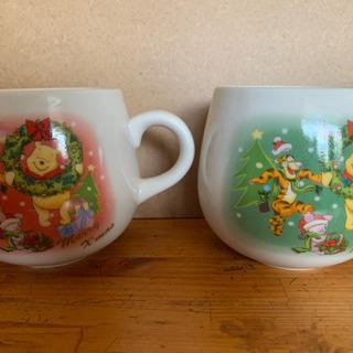 ︎ ︎☺︎ プーさんマグカップ2つ