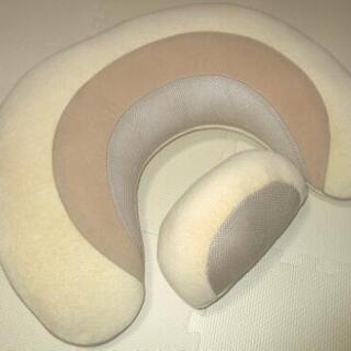 中古 授乳クッション 3way ベージュ(数回使用)