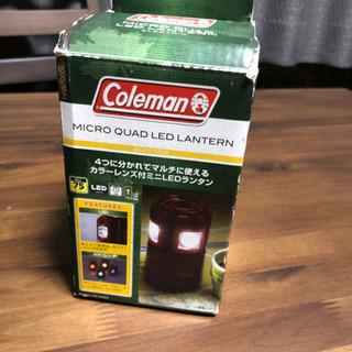 コールマンColeman マイクロクワッドLEDランタン