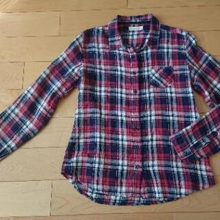 レディース チェックシャツ Mサイズ