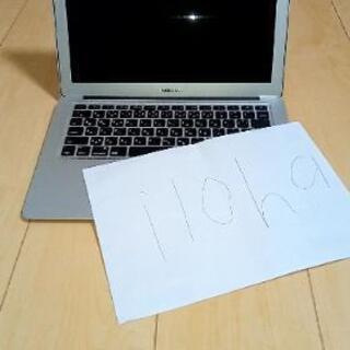 最終値下げ!!早い者勝ち(美品)MacBook Air 13イン...