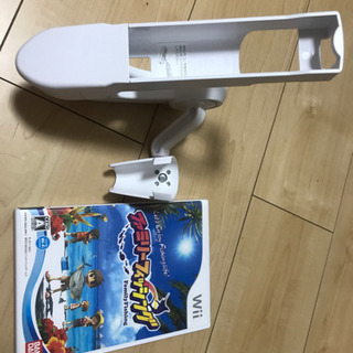 Wii 体感ゲームファミリーフィッシング+専用竿コン