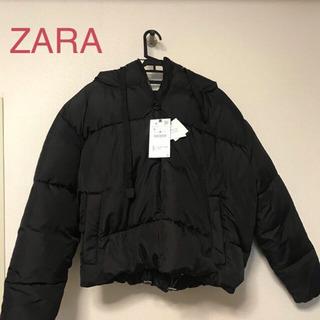 新品 ZARA ショート丈ダウンジャケット