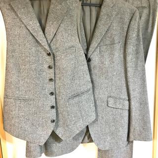スーツ メンズ セットアップ スリーピース 細身 スーツカンパニ...