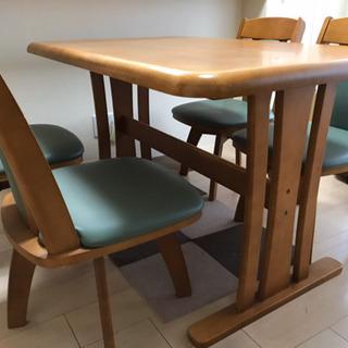 【商談中】ダイニングテーブル 椅子4脚 セット  8000…