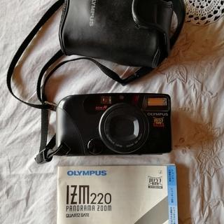 値下げします。オリンパスIZM220フィルムカメラ 中古現状品 ...
