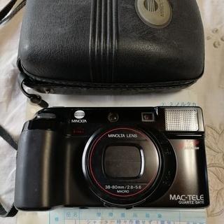 ミノルタ マックテレ80 フィルムカメラ ジャンク品 売ります