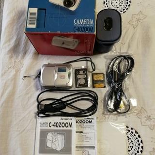 値下げします。 オリンパス デジタルカメラ C-40 ZOOM ...