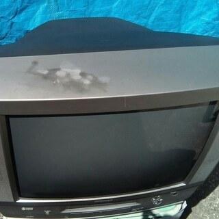 アナログブラウン管テレビデオ20型(ジャンク品)