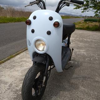 スズキ チョイノリ(50cc)カラー:アイスブルー 実動車です