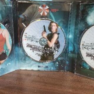 DVDバイオハザード&バイオハザード2ツインパック2005年製造3枚組