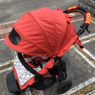 AirBuggy(エアバギー) ココ ブレーキ オレンジ 3輪ベ...