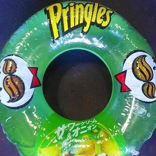 プリングルズ・90㎝一人用浮輪レア物