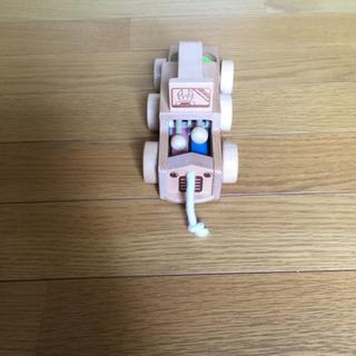 ベネッセの木製プルトイ おもちゃ