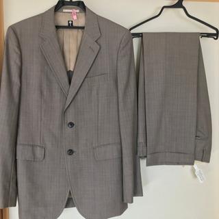 スーツ メンズ 細身 ライトグレー