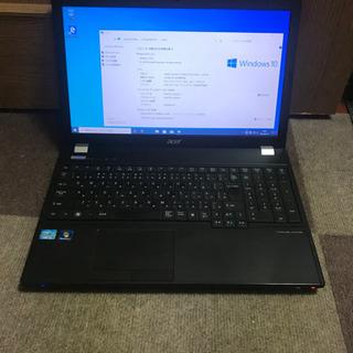 格安!acer ノートパソコン Core-i3 メモリ4GB H...