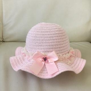 マザウェイズ 女児 帽子50㎝