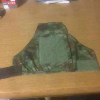 陸上自衛隊 ベルクロ式ワッペン装着可能なペン差し