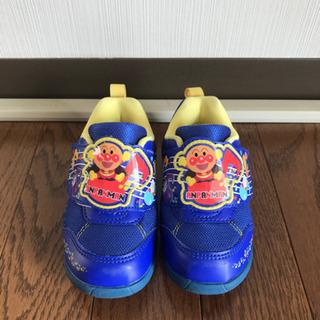 【お取引中】アンパンマン  靴 14センチ 青
