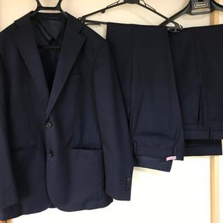 スーツ メンズ 細身 スーツカンパニー 紺色