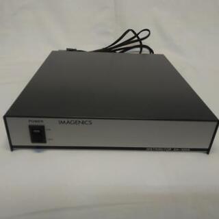 イメージニクス業務用コンポジット映像・音声4分配器 DA-120A