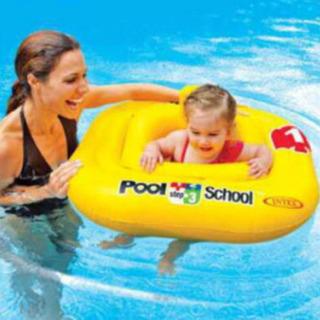 【消毒済★ベビー用浮き輪】ベビーフロート/プールスクール前の水慣れに