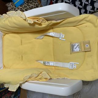 ハイローチェア黄色