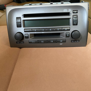 ダイハツ ミラジーノL650 純正CD/MD/ラジオチューナーデッキ