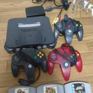 任天堂 64『箱なし』本体+ソフト3本