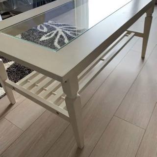ローテーブル、テーブル ホワイト