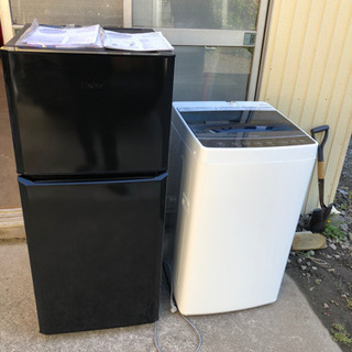 2016年製 ハイアール 冷蔵庫 洗濯機 ハイアール 121L ...