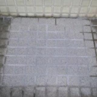 タイル、墓石、トイレなどの石材クリーニング