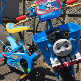 きかんしゃトーマス 自転車  12型 子供用