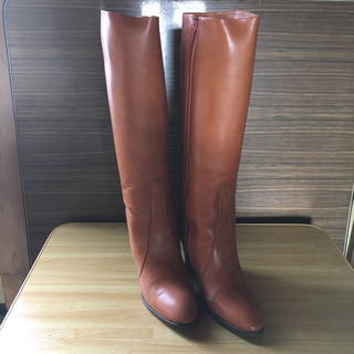 ¥400 試着可 値下げ ブーツ 使用頻度少 23.5cm