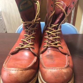 レッドウイング赤茶ブーツの画像