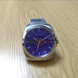 ポールスミス 腕時計 ブルー