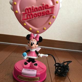 ミニーマウスのランプ(未使用品)