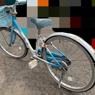 女児自転車((差し上げます)