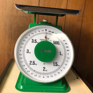 上皿はかり(普及型)4kg  【中古】計量 Yamato
