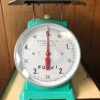 上皿はかり(5kg)Fuji 【中古】計量