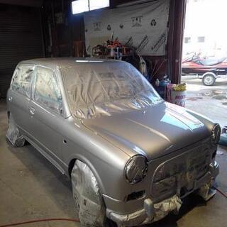 車の鈑金塗装、修理等