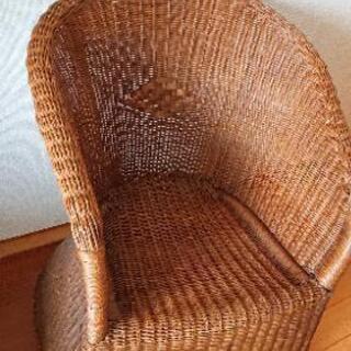 【無料】籐の椅子(2脚)【終了】