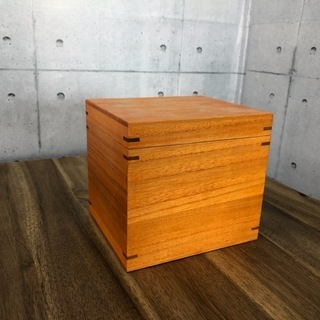 【アウトレット】桐箱( C / 柿渋 )小箱 木箱 木製 ボックス