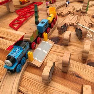 BRIO  木の線路セット トーマス列車あり お値下げ