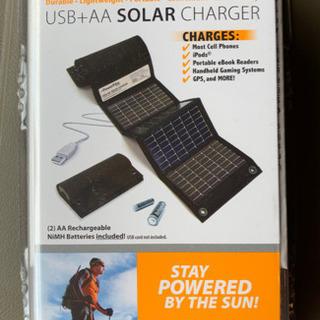 【新品】Power Film社製 ソーラー充電機