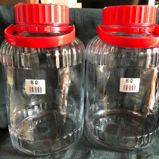 果実酒ビン(8L)